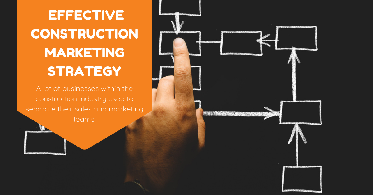 Creating an effective construction marketing strategy.
